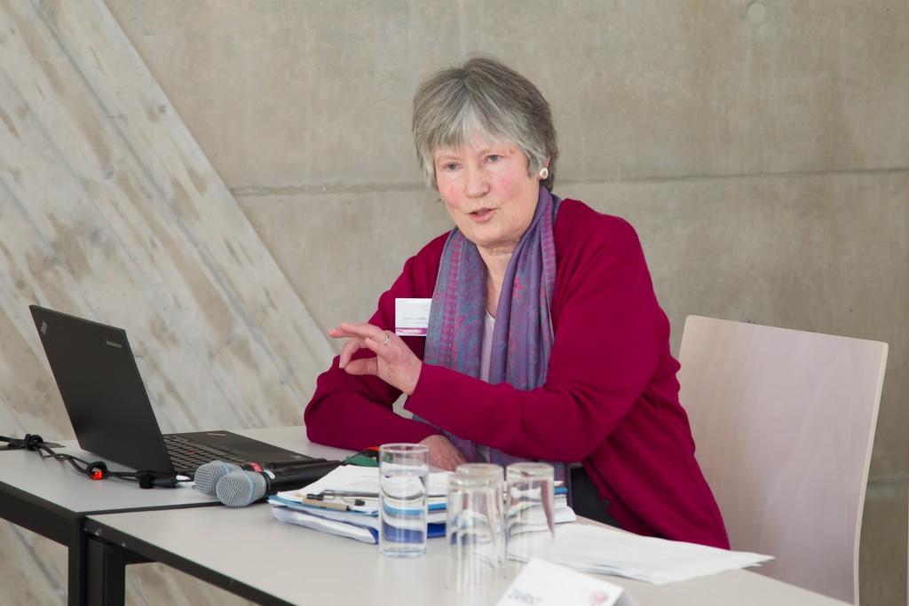 Angelika Zahrnt bei SERI-Parallelsession bei Wachstum im Wandel