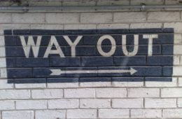 way out (secretlondon123/Flickr) (CC BY-SA 2.0)